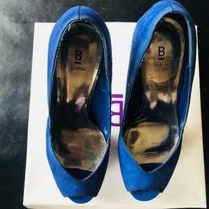 Bakers blue suede heels!